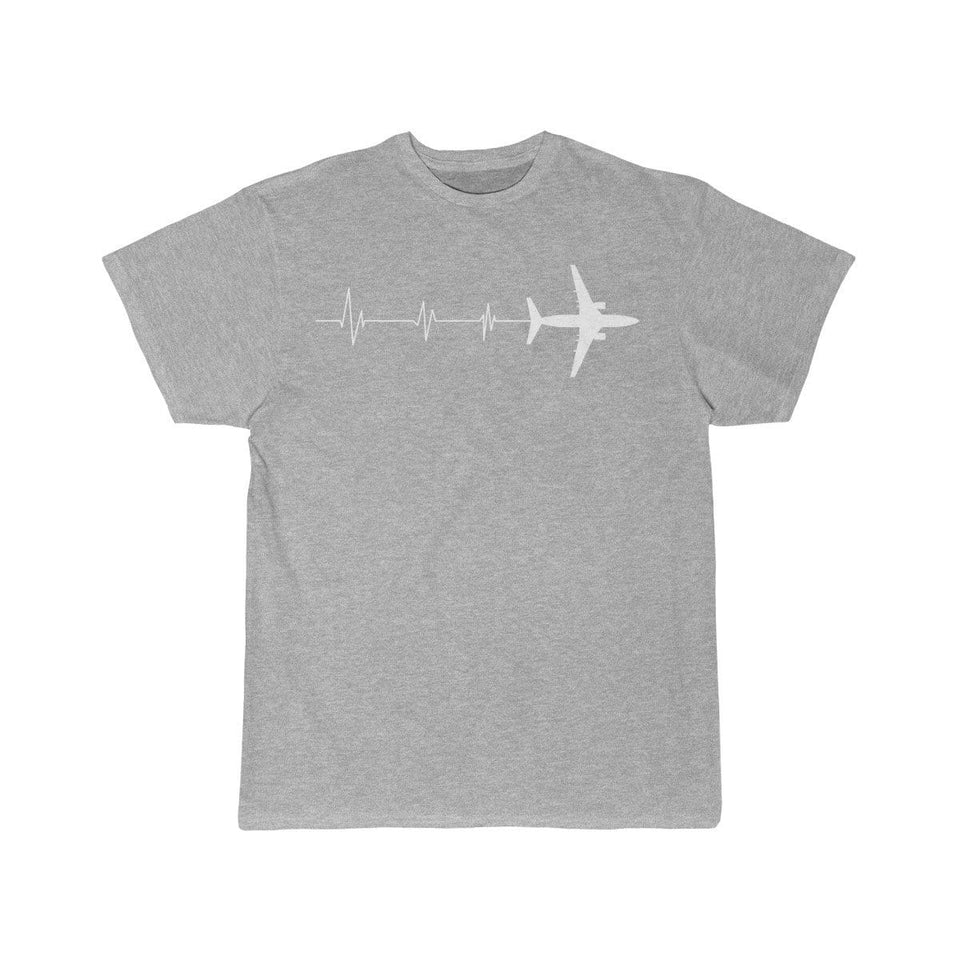 Printify T-shirt Athletic Heather / S HEARTBEAT 737