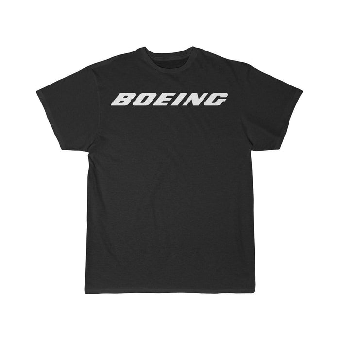Printify T-shirt Black / L Boeing Customizable Model Design