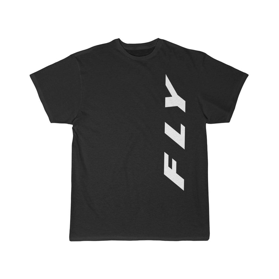 Printify T-shirt Black / S FLY