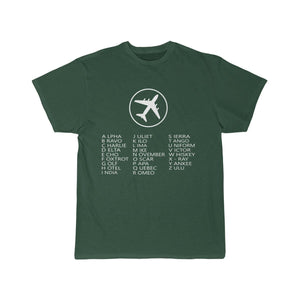 Printify T-shirt Forest / S AVIATION ALPHABET 2 DESIGNED CHILDREN T-SHIRTS