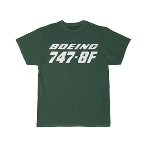 Printify T-shirt Forest / S Boeing B747-8F