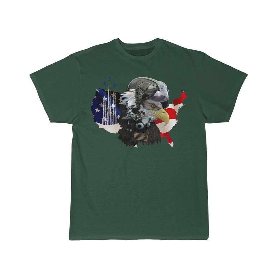 Printify T-shirt Forest / S Eagle Pilot