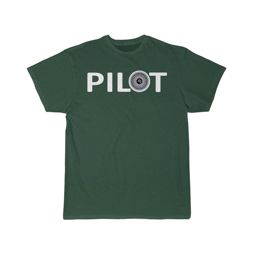 Printify T-shirt Forest / S PILOT (JET ENGINE) DESIGNED