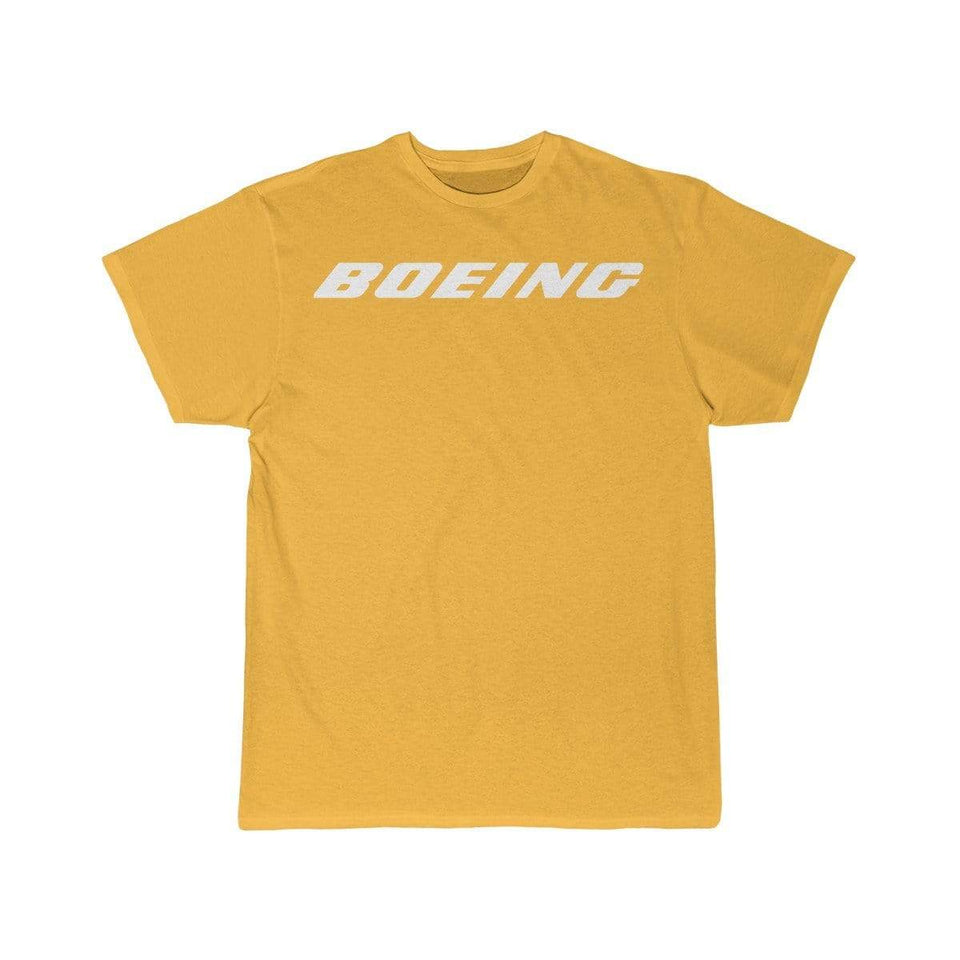 Printify T-shirt Gold / S Boeing Customizable Model Design