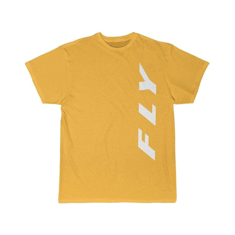 Printify T-shirt Gold / S FLY