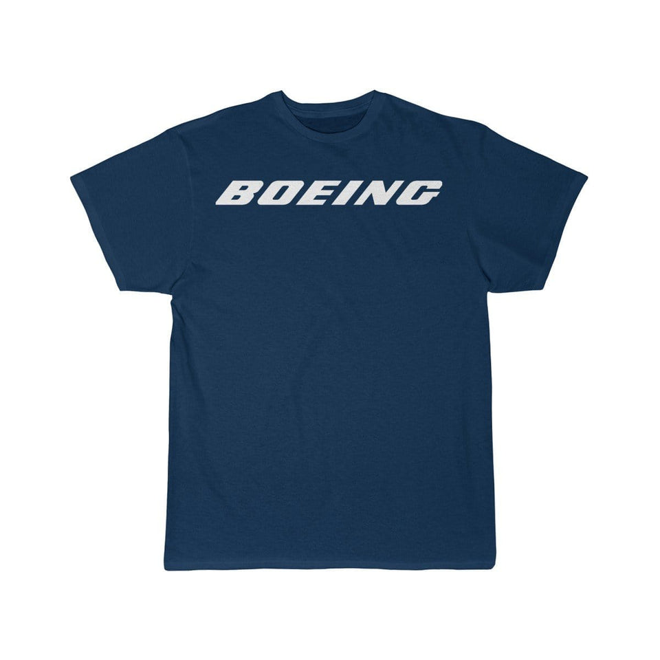 Printify T-shirt Navy / S Boeing Customizable Model Design