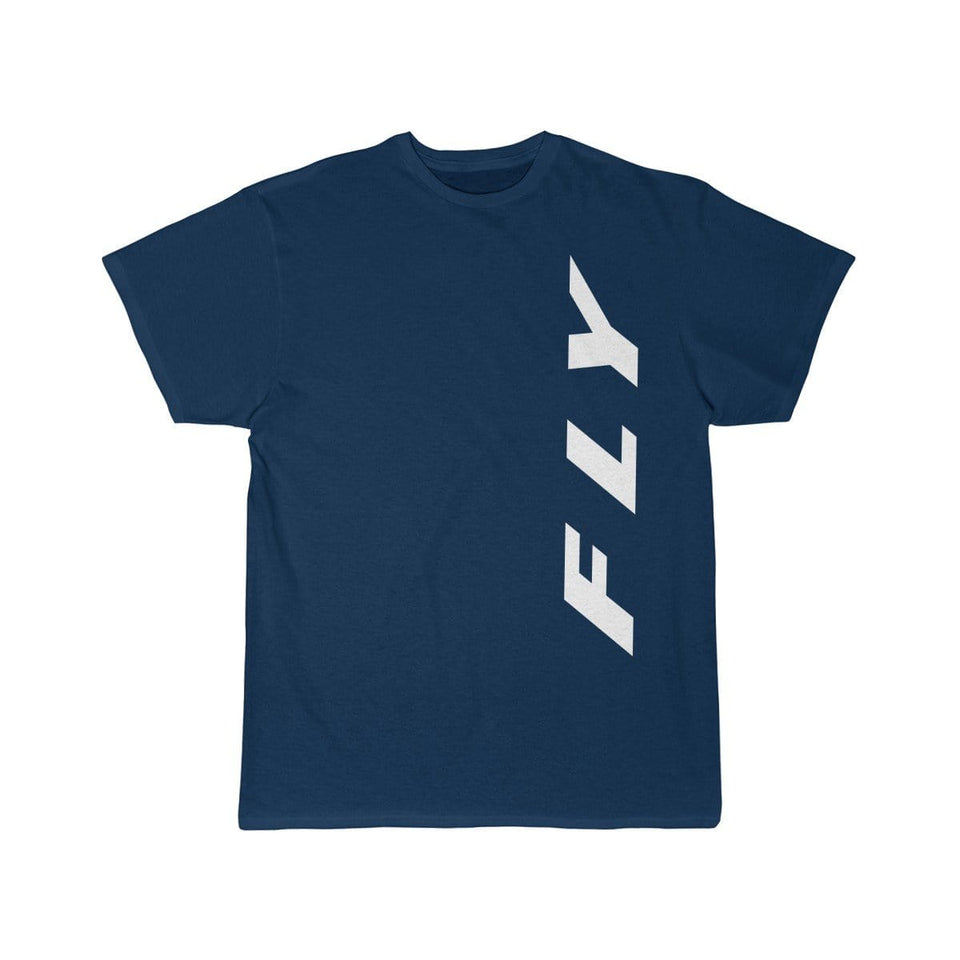 Printify T-shirt Navy / S FLY