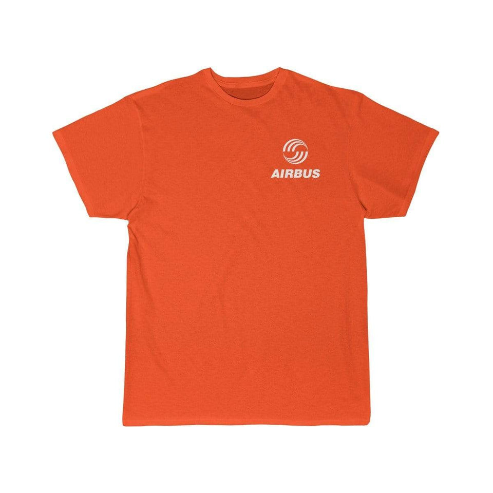 Printify T-shirt Orange / S Airbus Logo