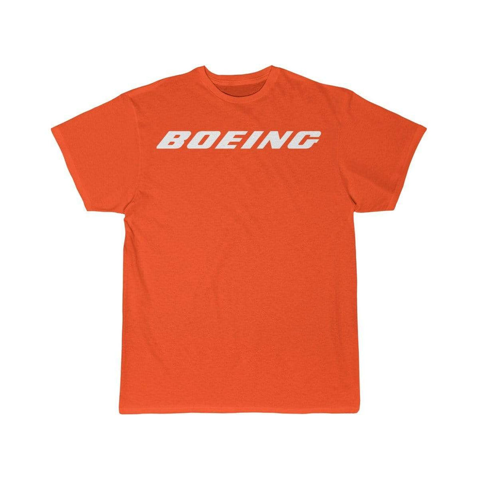 Printify T-shirt Orange / S Boeing Customizable Model Design