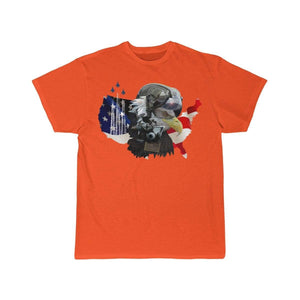 Printify T-shirt Orange / S Eagle Pilot