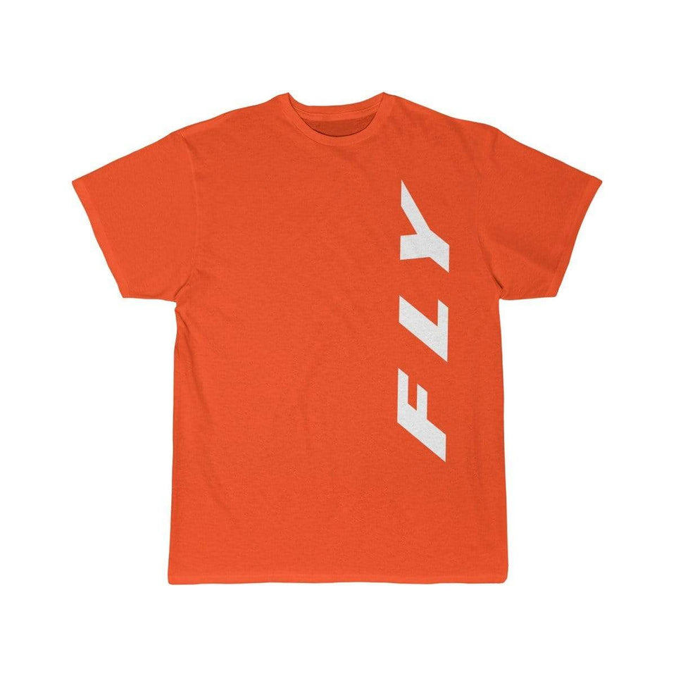 Printify T-shirt Orange / S FLY
