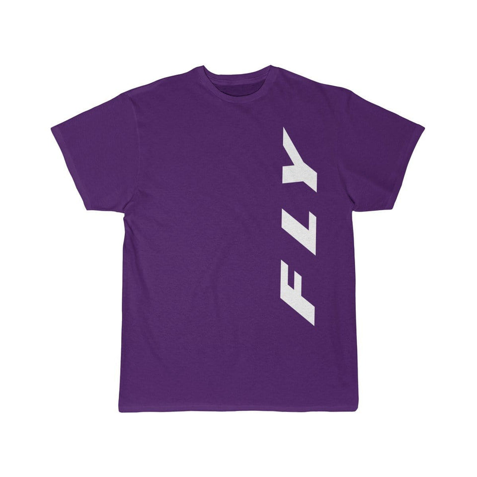 Printify T-shirt Purple / S FLY