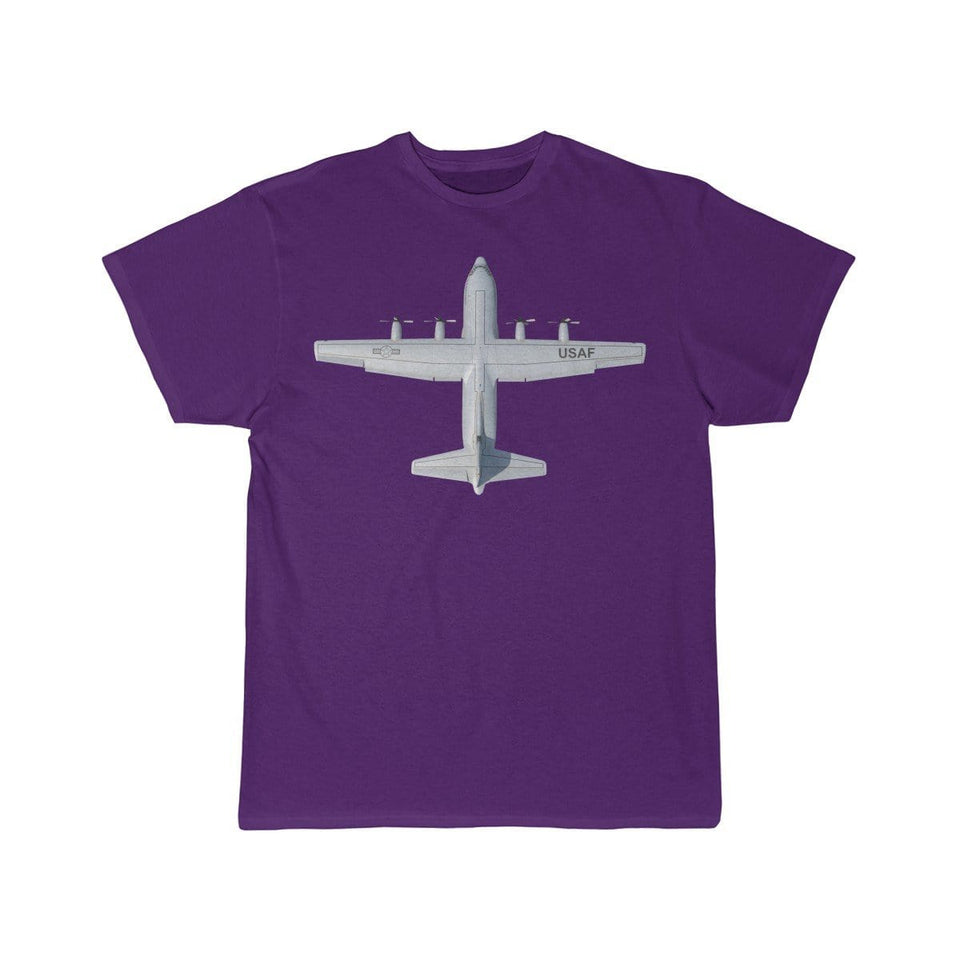 Printify T-shirt Purple / S Lockheed C-130