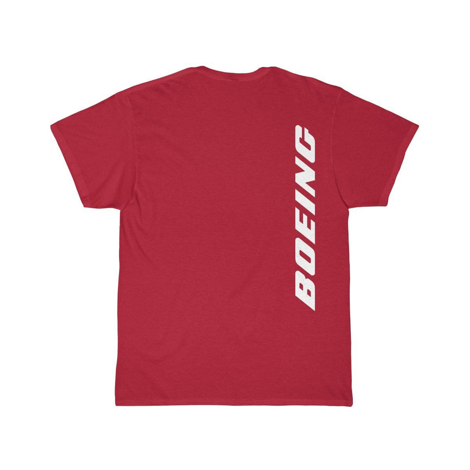 Printify T-shirt Red / S Boeing