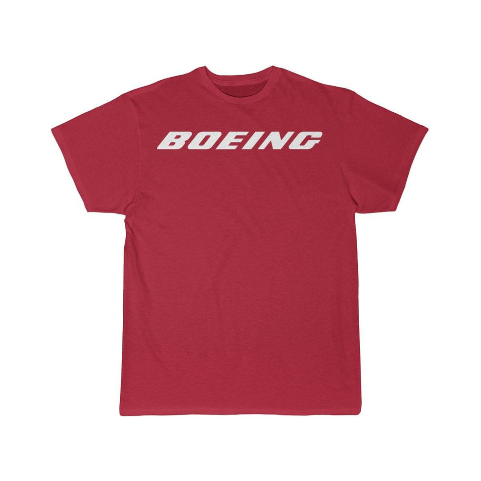 Printify T-shirt Red / S Boeing Customizable Model Design