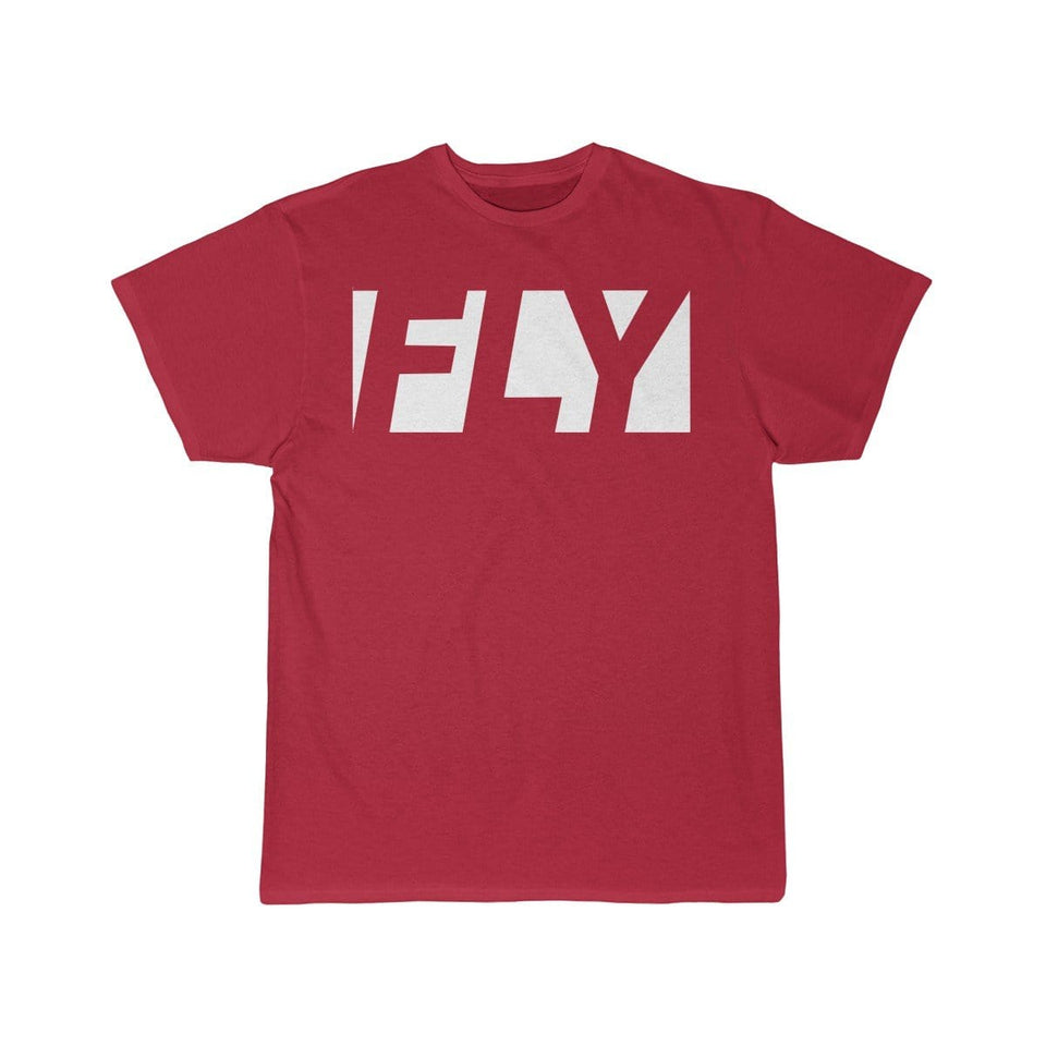 Printify T-shirt Red / S FLY
