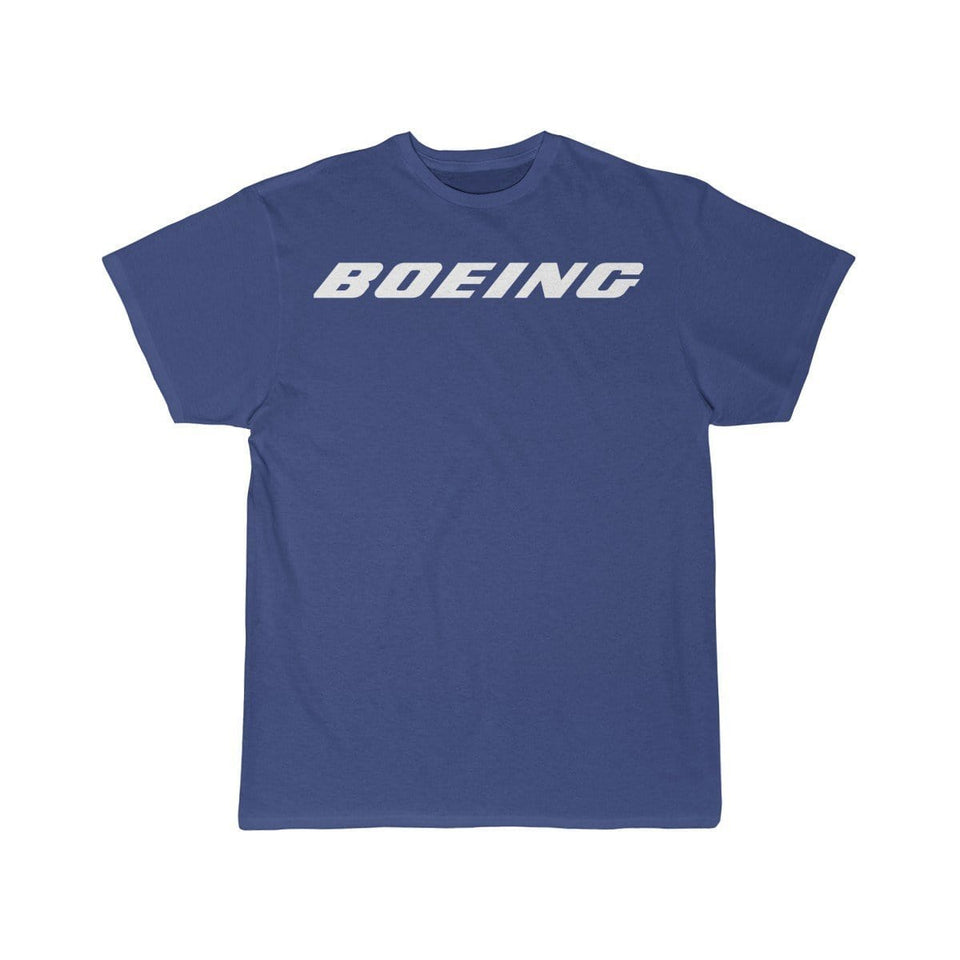 Printify T-shirt Royal / S Boeing Customizable Model Design
