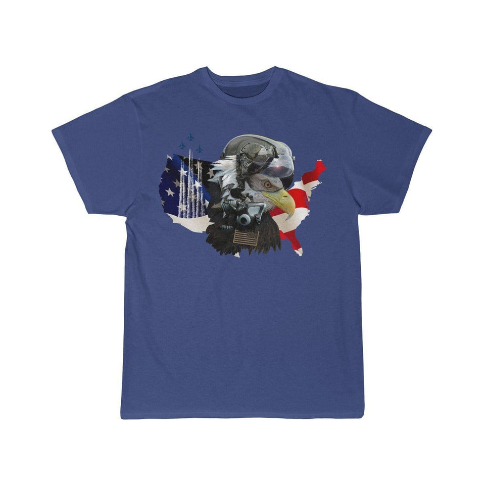 Printify T-shirt Royal / S Eagle Pilot