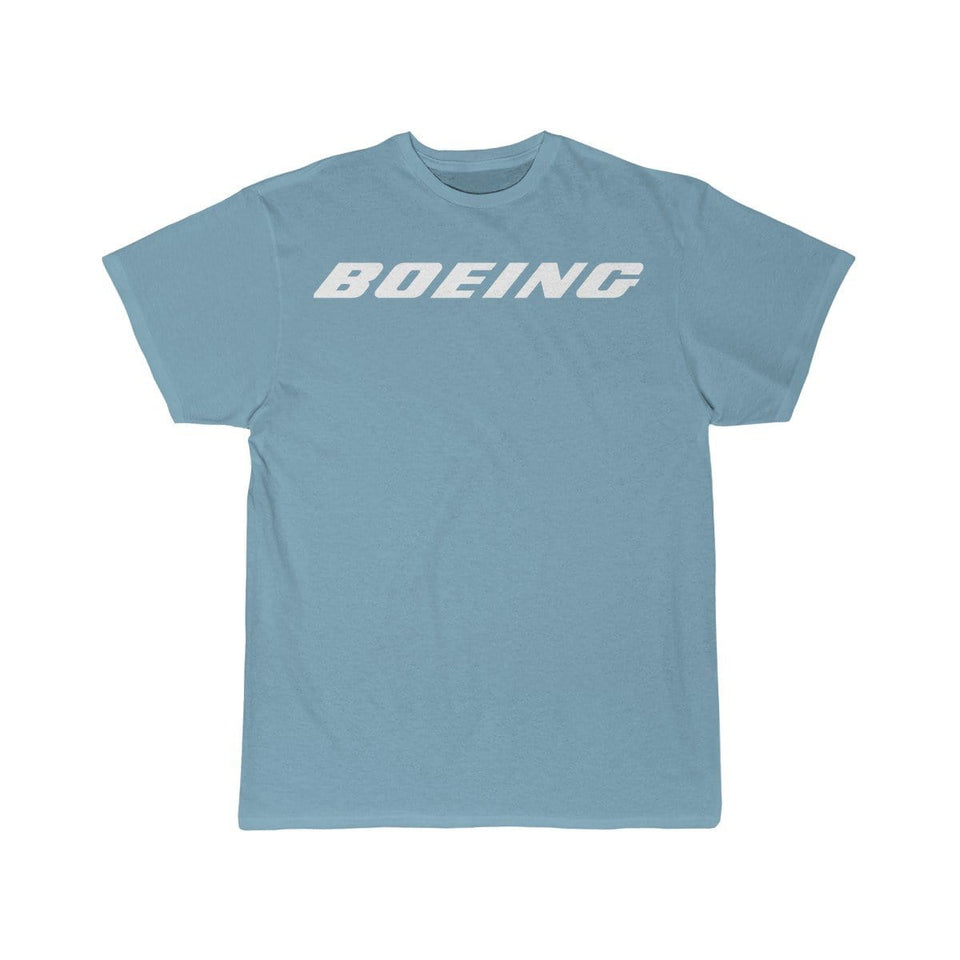 Printify T-shirt Sky Blue / S Boeing Customizable Model Design