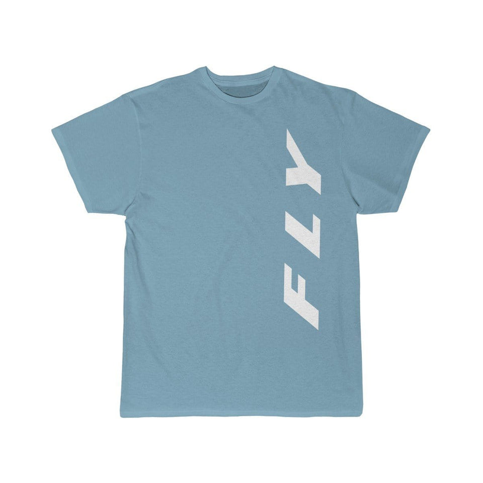 Printify T-shirt Sky Blue / S FLY