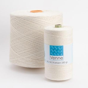 Venne 100% ORGANIC Cotton Ne 8/2 - Nm 14/2 GOTS Certification, , ThreadCollective,- Weaving, Thread Collective, Brisbane, Australia