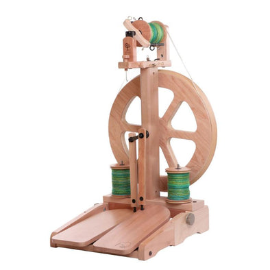 NEW Ashford Kiwi 3 Folding Spinning Wheel - Thread Collective
