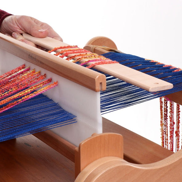 Using Ashford pick up weaving sticks from Thread Collective