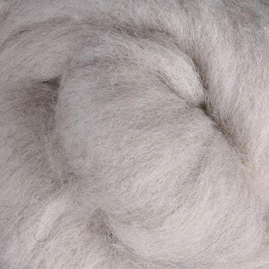 Light Natural Corriedale Sliver Wool Fibre