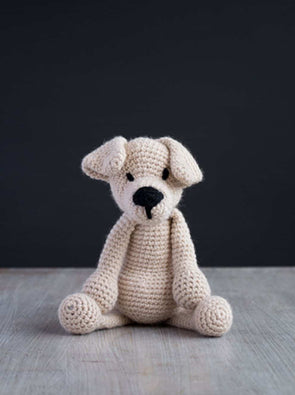 Eleanor the Labrador Crochet Kit - TOFT