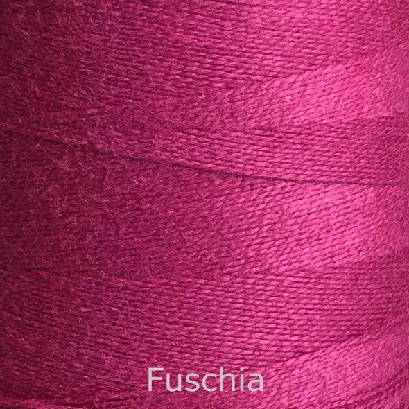 16/2 cotton weaving yarn fushia