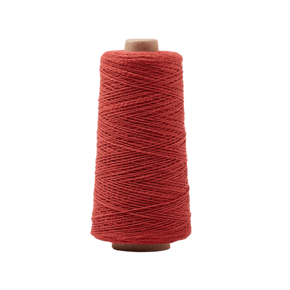 GIST Yarn Mallo Cotton Slub Weaving Yarn Brick