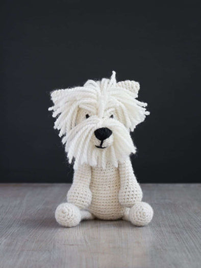 Geoff the Westie Crochet Kit - TOFT