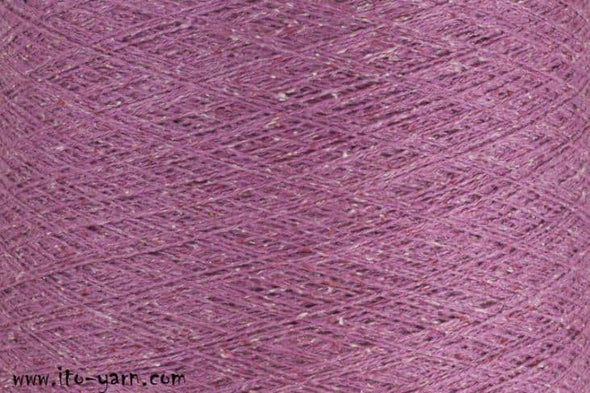 ITO Kinu 100% Silk Noil Yarn, Rose
