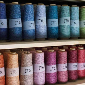 ITO Kinu 100% Silk, Yarn, ITO,- Weaving, Thread Collective, Brisbane, Australia