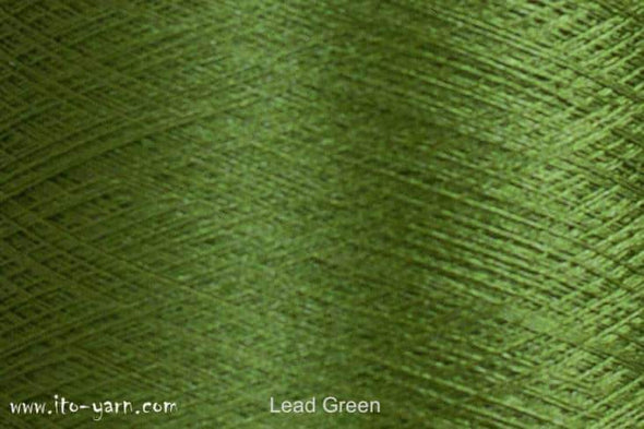 ITO Tetsu Stainless Steel Yarn Lead Green 431