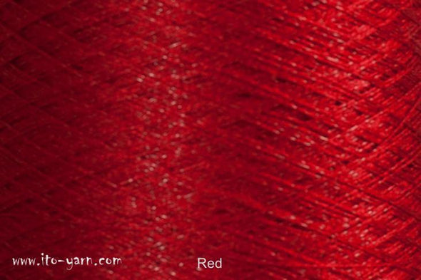 ITO Tetsu Stainless Steel Yarn Red 433