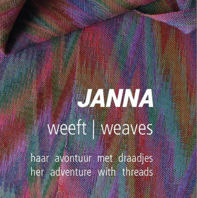 *PRESALE* Janna Weaves - A collection of Scarf Projects | Janna van Ledden
