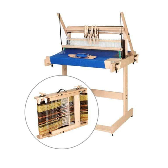 Table Loom - Jane 8 Shaft 40cm, 50cm & 70cm | Louet Weaving Loom
