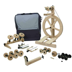 Louet S10 Fully Loaded Spinning Wheel Package