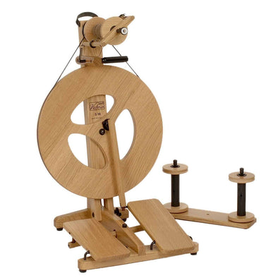 Louet Victoria Spinning Wheel Oak - Thread Collective