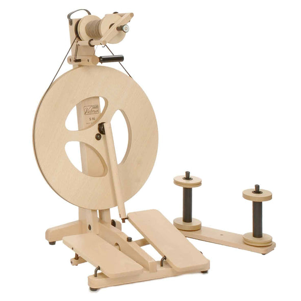 Louet Victoria Spinning Wheel Beech - Thread Collective