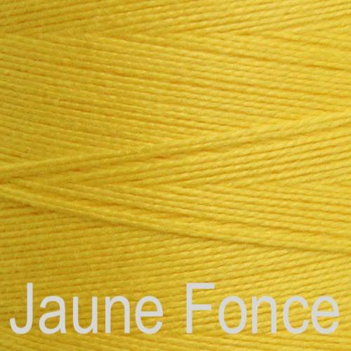 Maurice Brassard Cotton Weaving Yarn Ne 8/2 Jaune Fonce 431