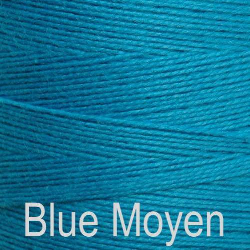 Maurice Brassard Cotton Weaving Yarn Ne 8/2 Blue Boyen 5029