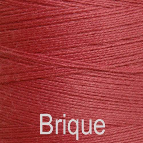 Maurice Brassard Cotton Weaving Yarn Ne 8/2 Brique 985