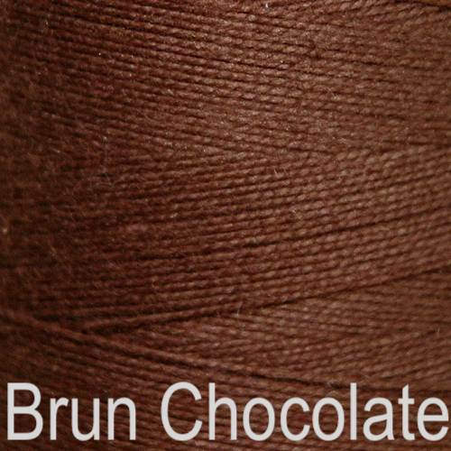 Maurice Brassard Cotton Weaving Yarn Ne 8/2 Brun Chocolate 8263