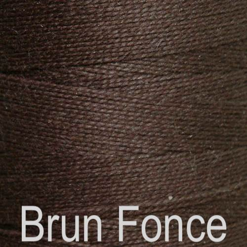 Maurice Brassard Cotton Weaving Yarn Ne 8/2 Brun Fonce 40