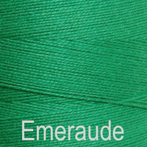 Maurice Brassard Cotton Weaving Yarn Ne 8/2 Emeraude 5506