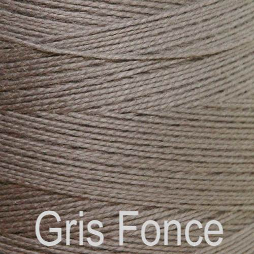 Maurice Brassard Cotton Weaving Yarn Ne 8/2 Gris Fonce 271