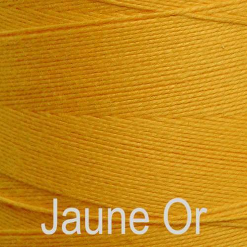 Maurice Brassard Cotton Weaving Yarn Ne 8/2 Jaune Or 3161