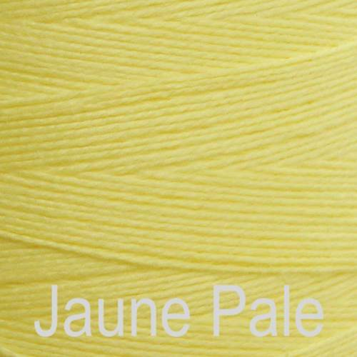 Maurice Brassard Cotton Weaving Yarn Ne 8/2 Jaune Pale 1512